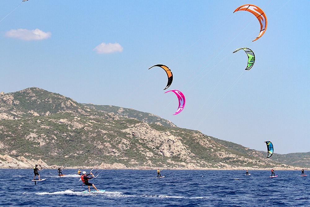kitesurf bouche bonifacio