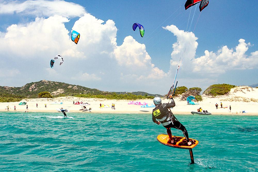 plage de kite