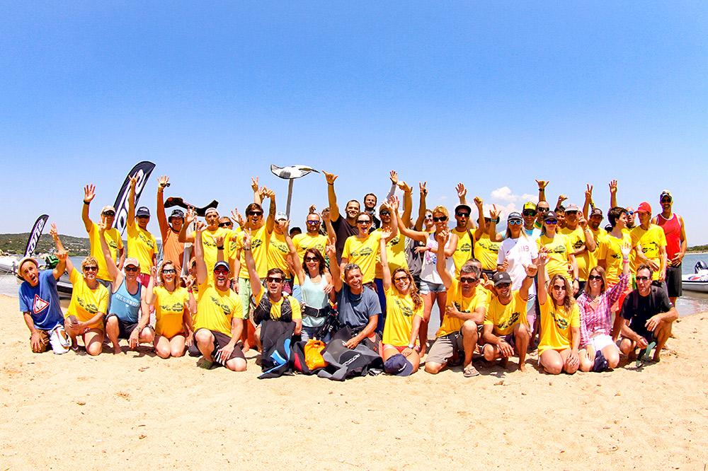 equipe eole kite race