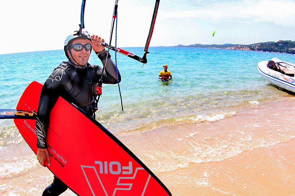 foil kite en corse