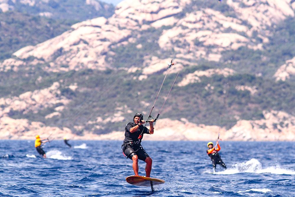 compétition kite Bonifacio