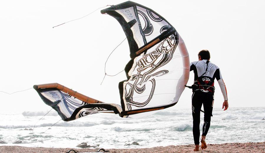 aile de kitesurf bonifacio