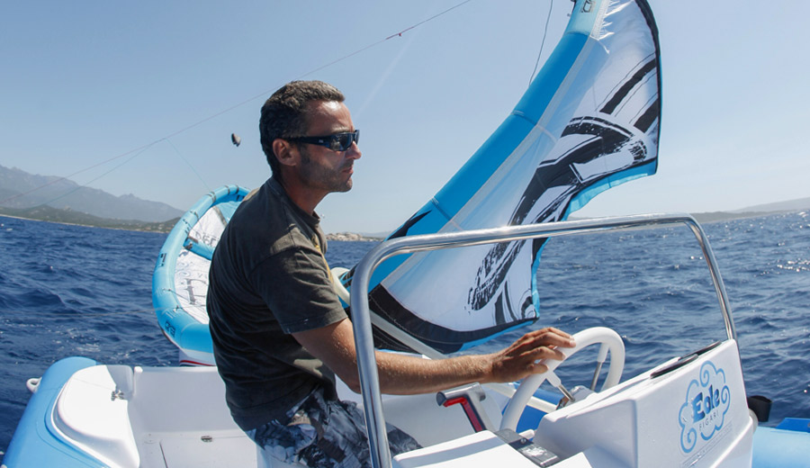apprendre le kitesurf en corse