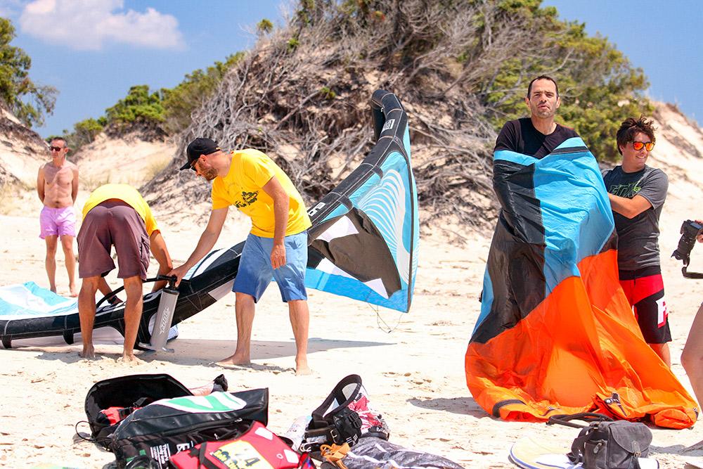 gréer un kite