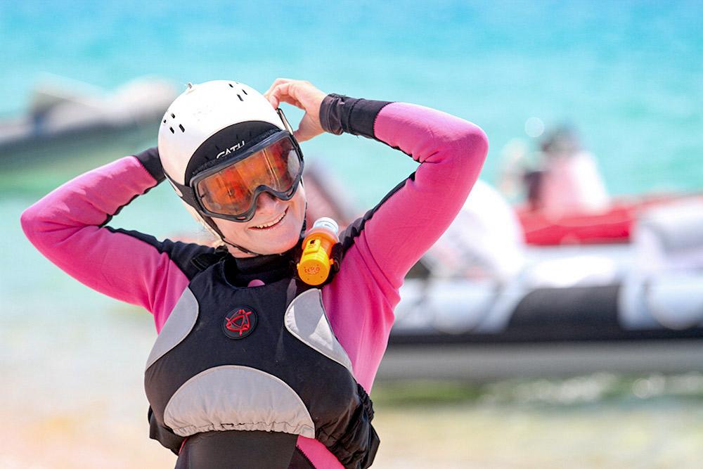 kitesurfeuse corse du sud